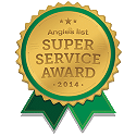 In 2014, we won the Super Service Award from Angie's List.